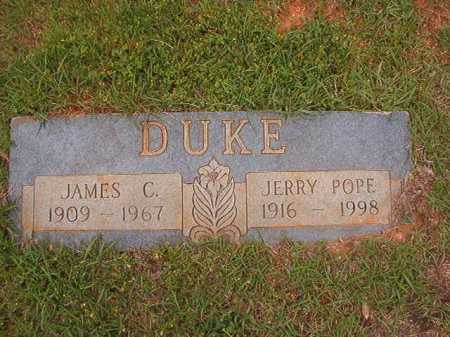 POPE DUKE, JERRY - Columbia County, Arkansas | JERRY POPE DUKE - Arkansas Gravestone Photos