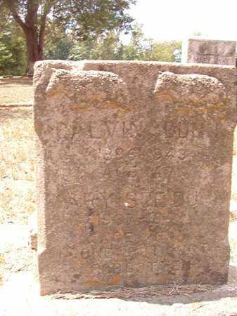 DUNN, CALVIN - Columbia County, Arkansas | CALVIN DUNN - Arkansas Gravestone Photos