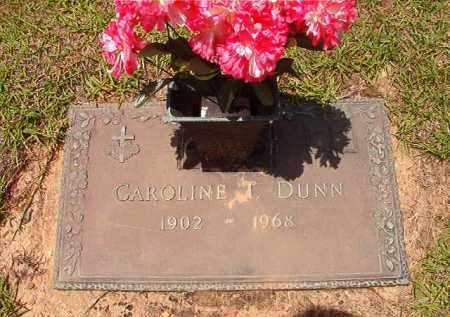 DUNN, CAROLINE T - Columbia County, Arkansas | CAROLINE T DUNN - Arkansas Gravestone Photos