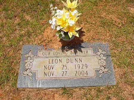DUNN, LEON - Columbia County, Arkansas | LEON DUNN - Arkansas Gravestone Photos