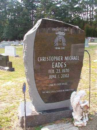 EADES, CHRISTOPHER MICHAEL - Columbia County, Arkansas | CHRISTOPHER MICHAEL EADES - Arkansas Gravestone Photos