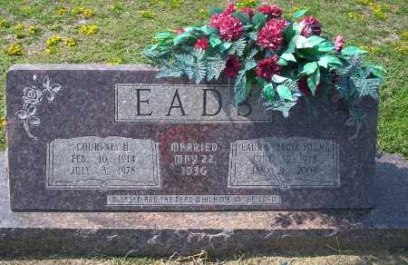 EADS, LAURA VIRGIA - Columbia County, Arkansas | LAURA VIRGIA EADS - Arkansas Gravestone Photos