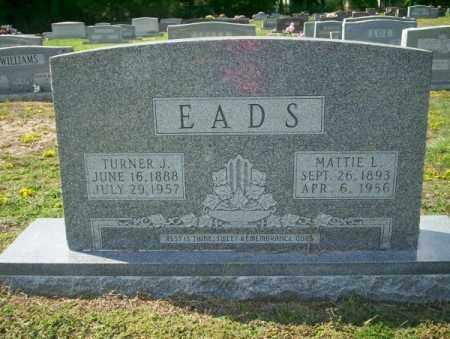 EADS, MATTIE L - Columbia County, Arkansas | MATTIE L EADS - Arkansas Gravestone Photos