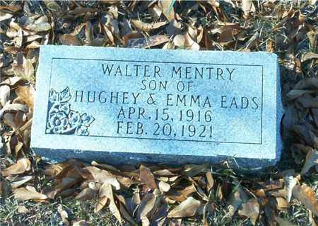 EADS, WALTER MENTRY - Columbia County, Arkansas | WALTER MENTRY EADS - Arkansas Gravestone Photos