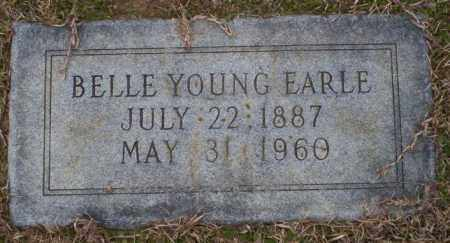 YOUNG EARLE, BELLE - Columbia County, Arkansas | BELLE YOUNG EARLE - Arkansas Gravestone Photos