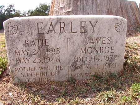 EARLEY, JAMES MONROE - Columbia County, Arkansas | JAMES MONROE EARLEY - Arkansas Gravestone Photos