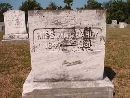 EARLY, MISS, M R - Columbia County, Arkansas | M R EARLY, MISS - Arkansas Gravestone Photos