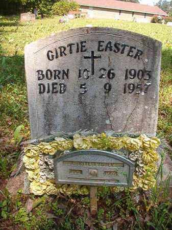 EASTER, GIRTIE - Columbia County, Arkansas | GIRTIE EASTER - Arkansas Gravestone Photos