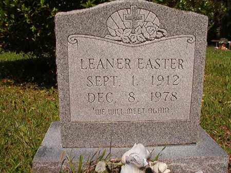 EASTER, LEANER - Columbia County, Arkansas | LEANER EASTER - Arkansas Gravestone Photos