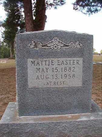 EASTER, MATTIE - Columbia County, Arkansas | MATTIE EASTER - Arkansas Gravestone Photos