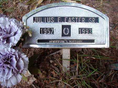 EASTER, SR, JULIUS E - Columbia County, Arkansas | JULIUS E EASTER, SR - Arkansas Gravestone Photos