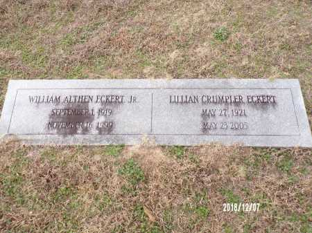CRUMPLER ECKERT, LILLIAN - Columbia County, Arkansas | LILLIAN CRUMPLER ECKERT - Arkansas Gravestone Photos