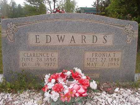 EDWARDS, CLARENCE C - Columbia County, Arkansas | CLARENCE C EDWARDS - Arkansas Gravestone Photos