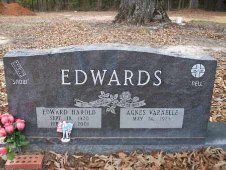 EDWARDS, EDWARD HAROLD - Columbia County, Arkansas | EDWARD HAROLD EDWARDS - Arkansas Gravestone Photos