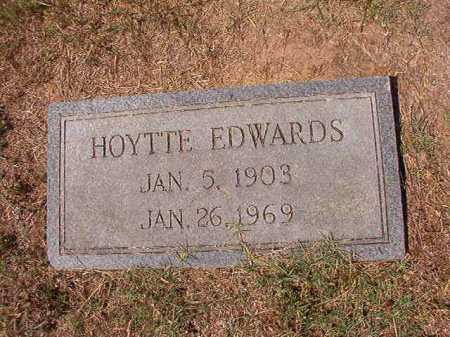 EDWARDS, HOYTTE - Columbia County, Arkansas | HOYTTE EDWARDS - Arkansas Gravestone Photos