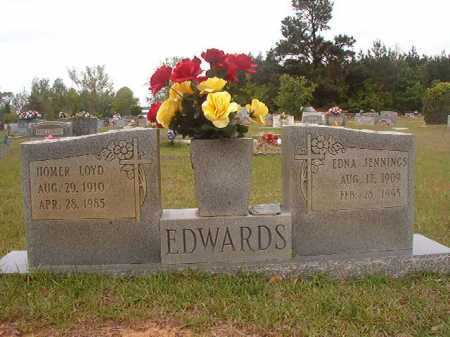 JENNINGS EDWARDS, EDNA - Columbia County, Arkansas | EDNA JENNINGS EDWARDS - Arkansas Gravestone Photos