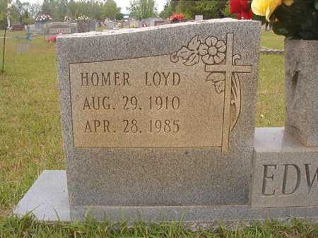 EDWARDS, HOMER LOYD - Columbia County, Arkansas | HOMER LOYD EDWARDS - Arkansas Gravestone Photos