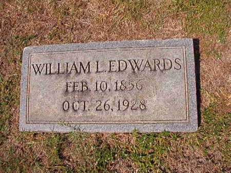 EDWARDS, WILLIAM L - Columbia County, Arkansas | WILLIAM L EDWARDS - Arkansas Gravestone Photos