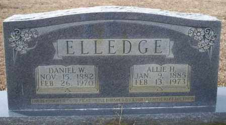ELLEDGE, DANIEL W - Columbia County, Arkansas | DANIEL W ELLEDGE - Arkansas Gravestone Photos
