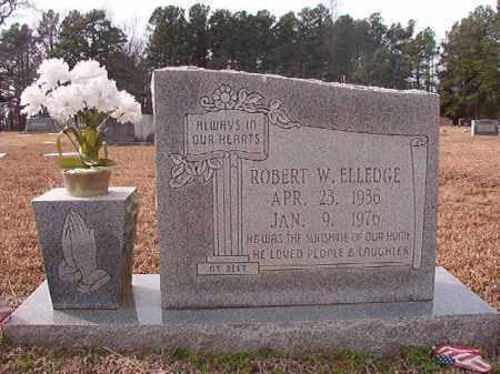 ELLEDGE, ROBERT W - Columbia County, Arkansas   ROBERT W ELLEDGE - Arkansas Gravestone Photos