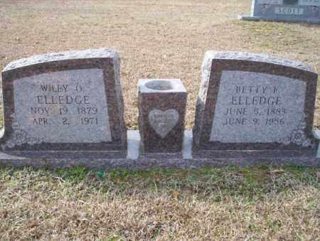 ELLEDGE, BETTY F - Columbia County, Arkansas | BETTY F ELLEDGE - Arkansas Gravestone Photos