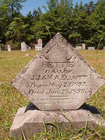 ELLIOTT, BETTIE - Columbia County, Arkansas | BETTIE ELLIOTT - Arkansas Gravestone Photos