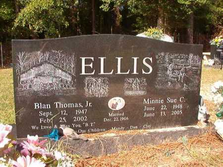 ELLIS, JR, BLAN THOMAS - Columbia County, Arkansas | BLAN THOMAS ELLIS, JR - Arkansas Gravestone Photos
