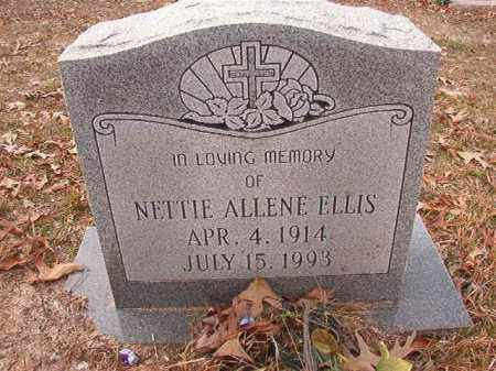 ELLIS, NETTIE ALLENE - Columbia County, Arkansas | NETTIE ALLENE ELLIS - Arkansas Gravestone Photos