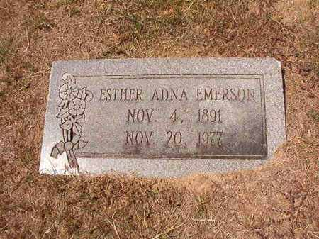 EMERSON, ESTHER ADNA - Columbia County, Arkansas | ESTHER ADNA EMERSON - Arkansas Gravestone Photos