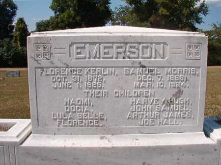 EMERSON, SAMUEL MORRIS - Columbia County, Arkansas | SAMUEL MORRIS EMERSON - Arkansas Gravestone Photos