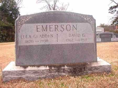 EMERSON, DAVID G - Columbia County, Arkansas | DAVID G EMERSON - Arkansas Gravestone Photos