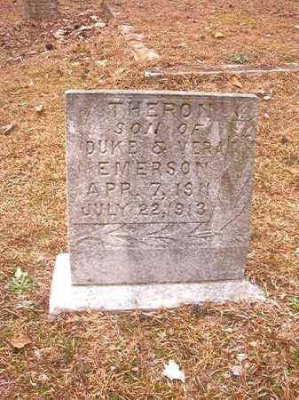 EMERSON, THERON - Columbia County, Arkansas | THERON EMERSON - Arkansas Gravestone Photos