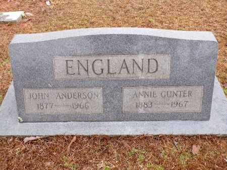 GUNTER ENGLAND, ANNIE - Columbia County, Arkansas | ANNIE GUNTER ENGLAND - Arkansas Gravestone Photos