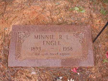 ENGLE, MINNIE R L - Columbia County, Arkansas | MINNIE R L ENGLE - Arkansas Gravestone Photos