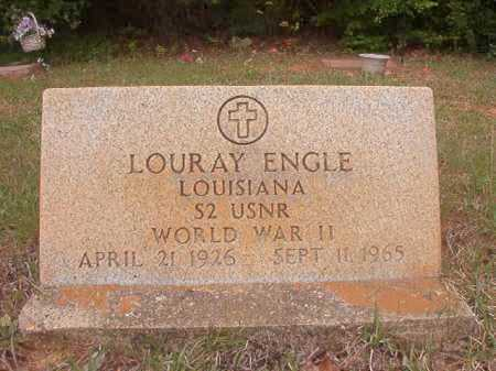 ENGLE (VETERAN WWII), LOURAY - Columbia County, Arkansas | LOURAY ENGLE (VETERAN WWII) - Arkansas Gravestone Photos