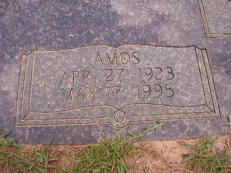 EVANS, AMOS - Columbia County, Arkansas | AMOS EVANS - Arkansas Gravestone Photos