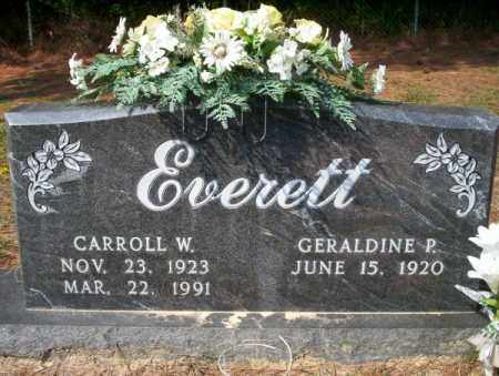 EVERETT, CARROLL W - Columbia County, Arkansas | CARROLL W EVERETT - Arkansas Gravestone Photos
