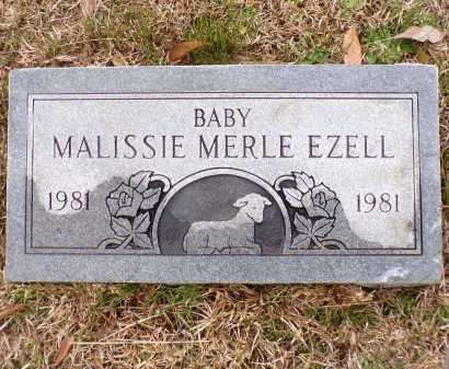 EZELL, MALISSIE MERLE - Columbia County, Arkansas | MALISSIE MERLE EZELL - Arkansas Gravestone Photos