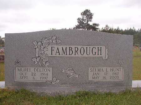 HUNT FAMBROUGH, SELMA L - Columbia County, Arkansas | SELMA L HUNT FAMBROUGH - Arkansas Gravestone Photos