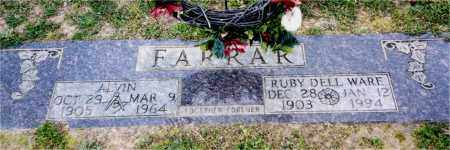 FARRAR, RUBY DELL - Columbia County, Arkansas | RUBY DELL FARRAR - Arkansas Gravestone Photos