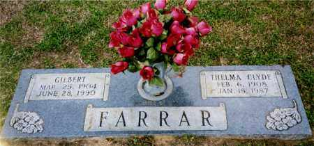 FARRAR, GILBERT - Columbia County, Arkansas | GILBERT FARRAR - Arkansas Gravestone Photos