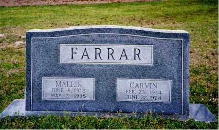 WARE FARRAR, MALLIE - Columbia County, Arkansas | MALLIE WARE FARRAR - Arkansas Gravestone Photos