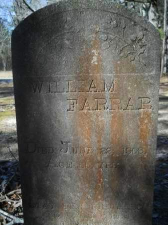 FARRAR, WILLIAM - Columbia County, Arkansas | WILLIAM FARRAR - Arkansas Gravestone Photos