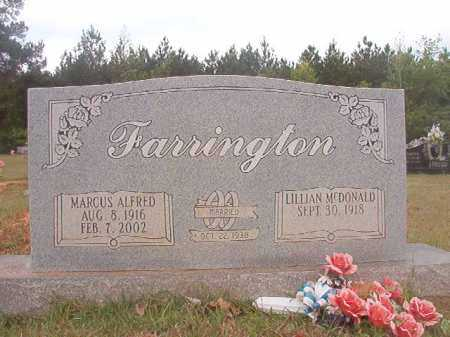 FARRINGTON, MARCUS ALFRED - Columbia County, Arkansas | MARCUS ALFRED FARRINGTON - Arkansas Gravestone Photos