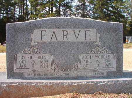WOODARD FARVE, ADDIE - Columbia County, Arkansas | ADDIE WOODARD FARVE - Arkansas Gravestone Photos