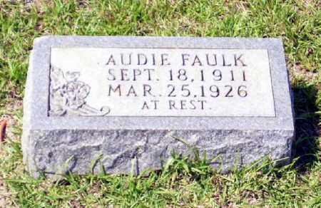 FAULK, AUDIE - Columbia County, Arkansas | AUDIE FAULK - Arkansas Gravestone Photos