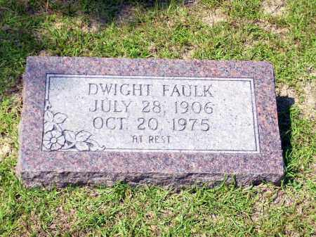 FAULK, DWIGHT - Columbia County, Arkansas | DWIGHT FAULK - Arkansas Gravestone Photos