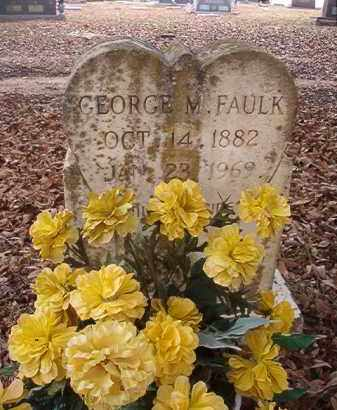FAULK, GEORGE M - Columbia County, Arkansas | GEORGE M FAULK - Arkansas Gravestone Photos