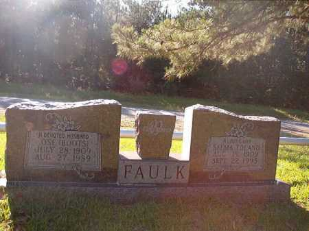 TOLAND FAULK, SELMA - Columbia County, Arkansas | SELMA TOLAND FAULK - Arkansas Gravestone Photos