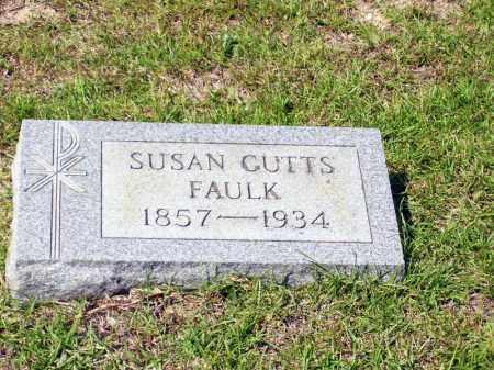 CUTTS FAULK, SUSAN - Columbia County, Arkansas | SUSAN CUTTS FAULK - Arkansas Gravestone Photos